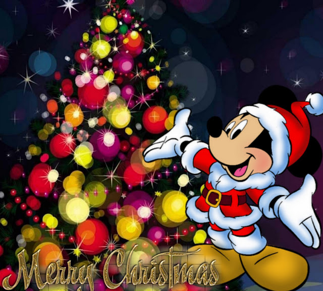 animated  disney Merry Christmas wallpapers
