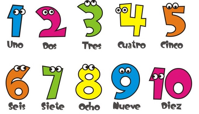 Numeros del 1 al 30 para colorear - Imagui