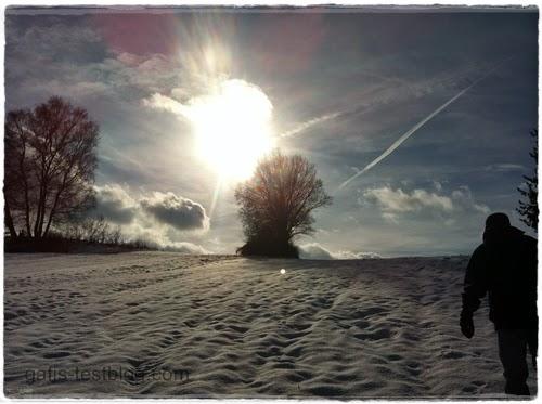 Wandern im Schnee