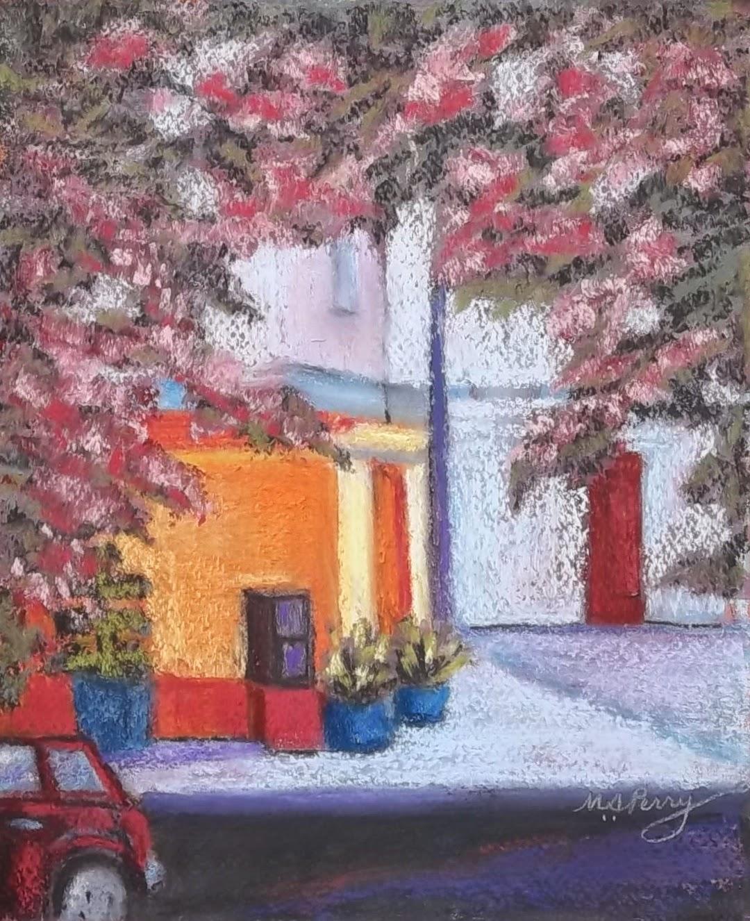 "Pastel Artists International ""The Flower Shop"" 8"" x 10"""