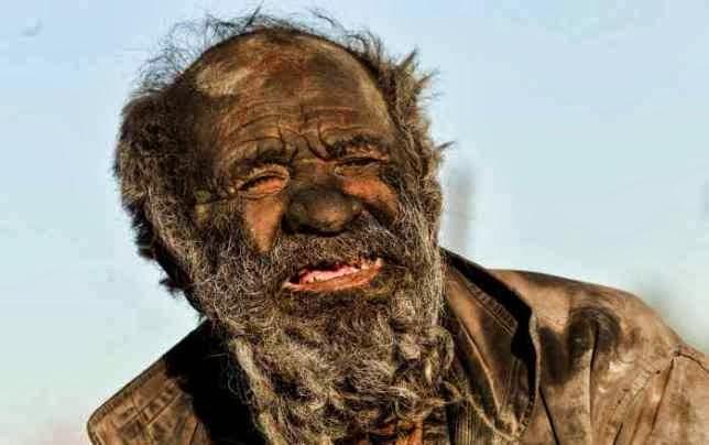 Una persona lleva sin lavarse 60 años