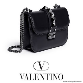 Crown Princess Victoria Style VELENTINO Small Chain Shoulder Bag