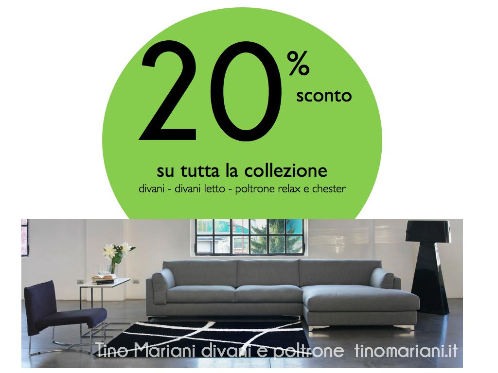 Offerte divani e divani letto - poltrone relax - chester | Tino ...