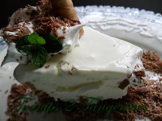 Turnips 2 Tangerines: Fluffy Frozen Grasshopper Pie