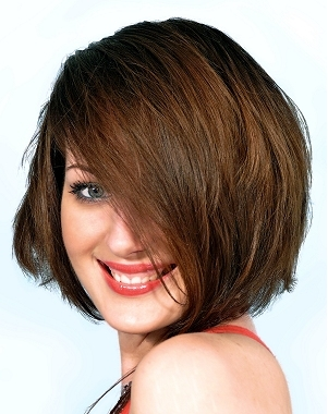 women hairstyles 2012 in short long medium haircuts for round face