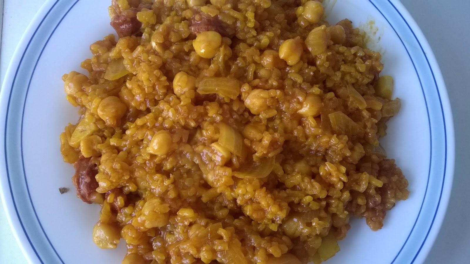 Multicook pro de tefal primeros pasos arroz con - Tefal multicook pro recetas ...