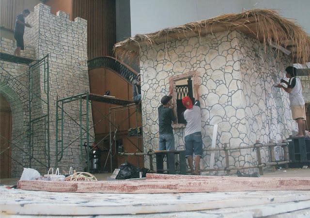 jasa Dekorasi Model Bebatuan Arsitek Kuno