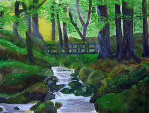 Woodland Stream By June