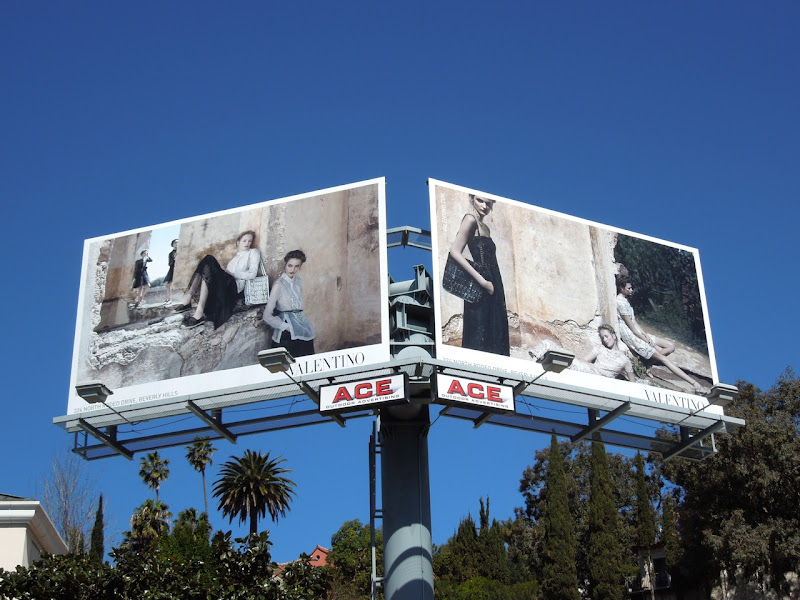 Valentino Spring 2012 billboard