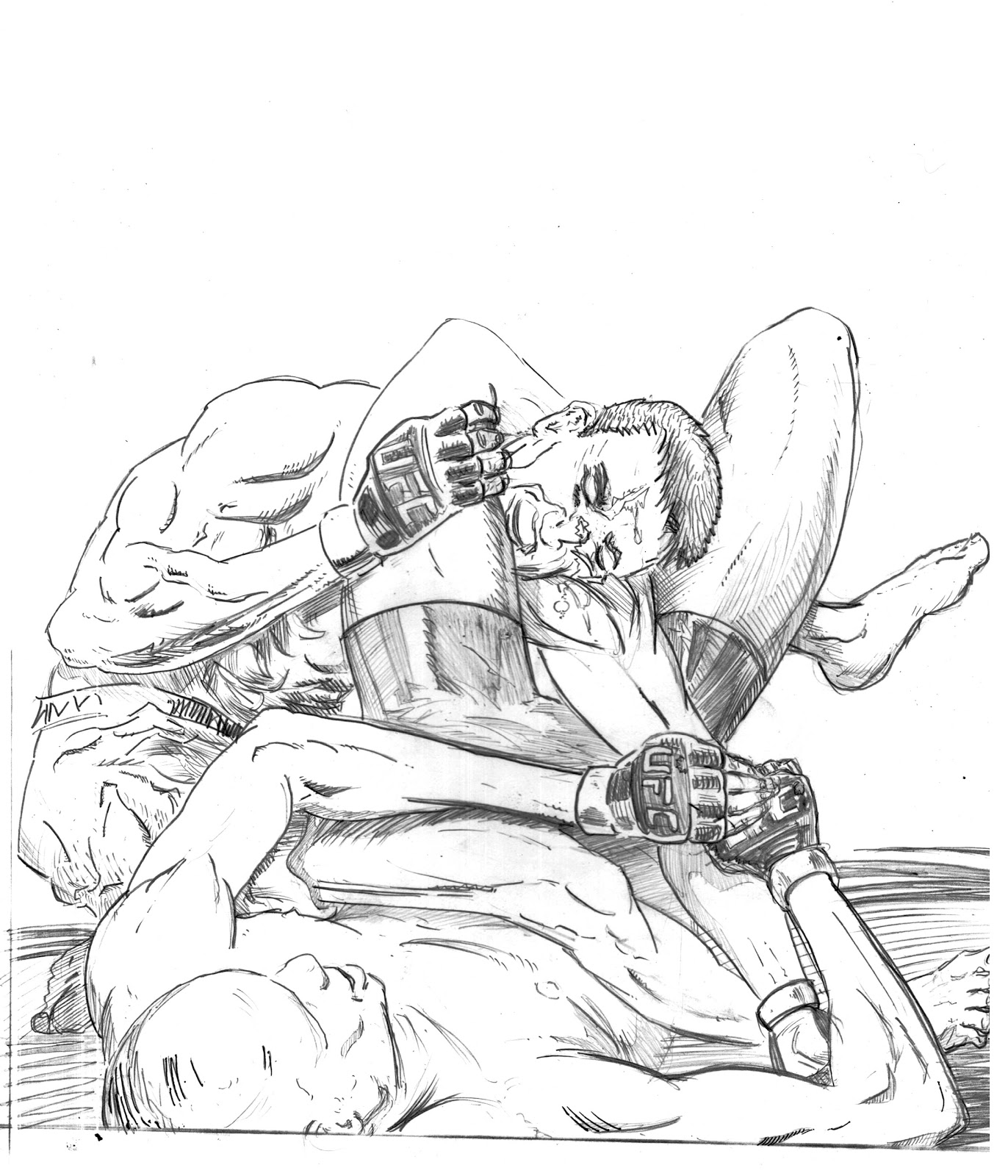 ufc coloring pages - photo#12