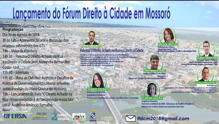 Fórum Direito à Cidade, Mossoró/RN