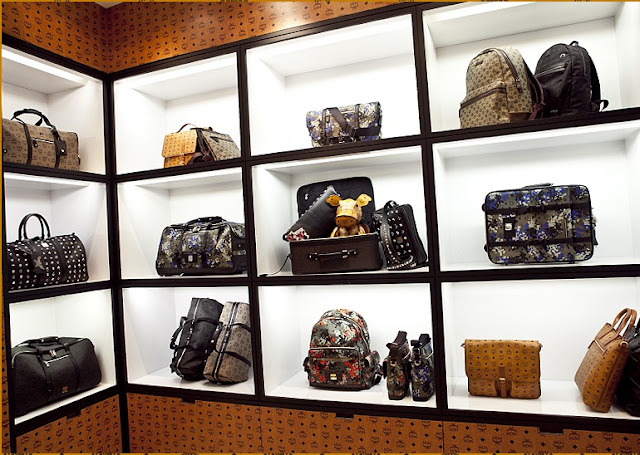 MCM pop up shop in South Korea