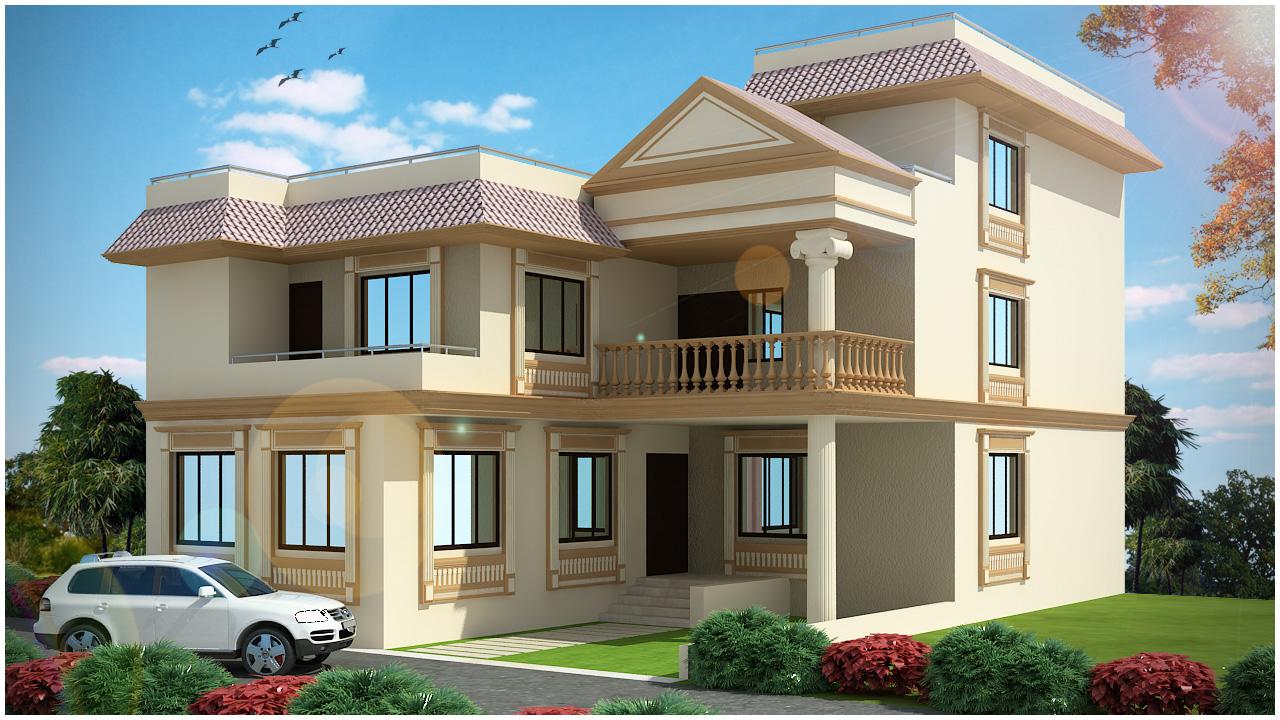 ghar planner leading house plan and house design On latest duplex