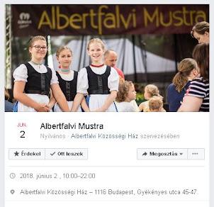 Albertfalvi Mustra