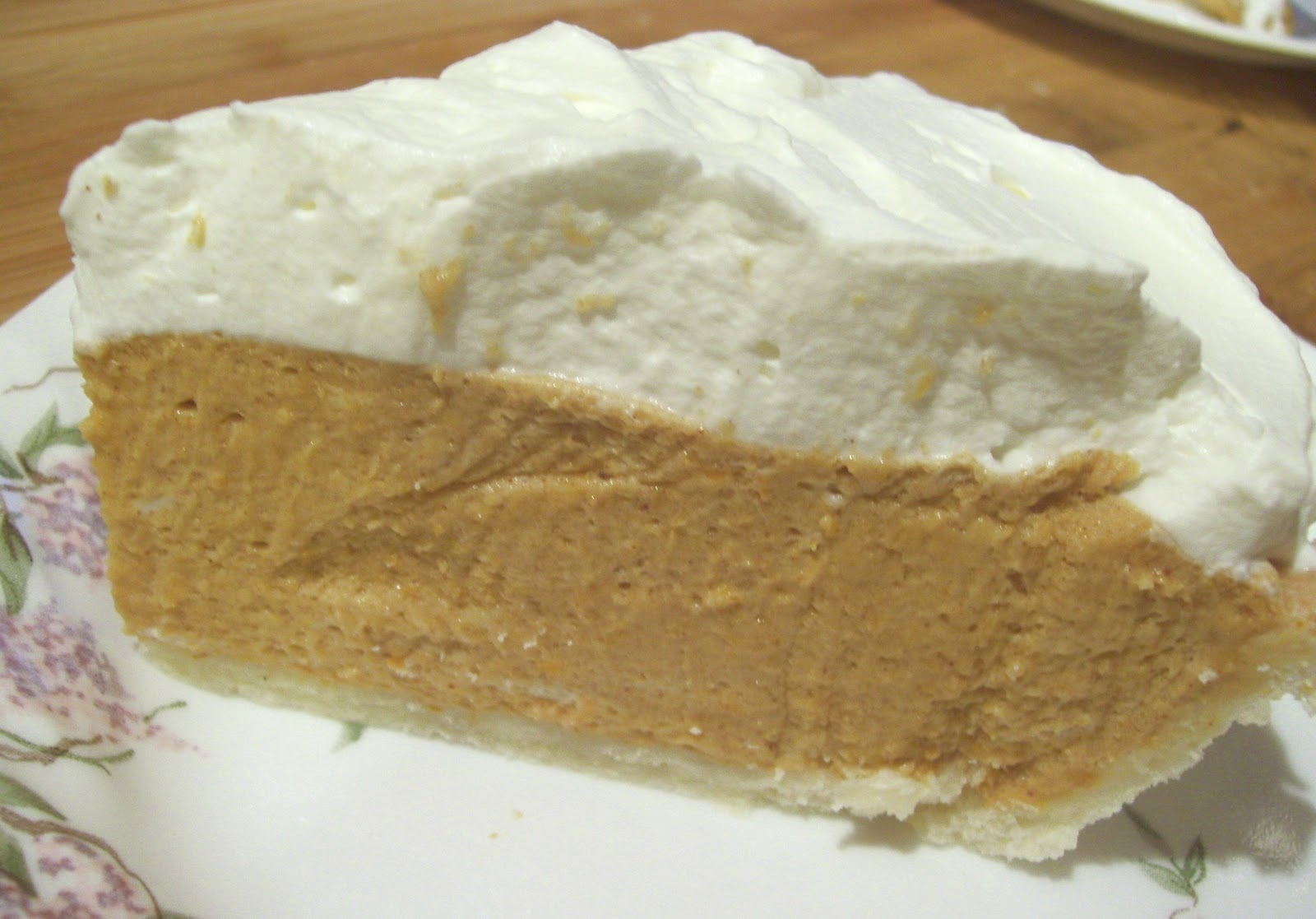 Gluten-Free Goes Vintage: Frost on the Pumpkin Chiffon Pie