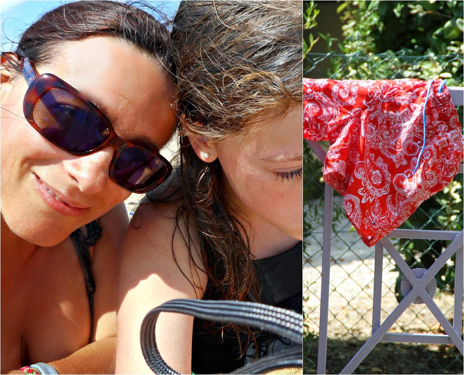 Strandleben in Südfrankreich