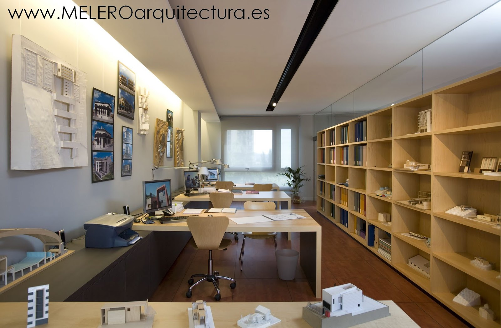 Melero arquitectura nuestra oficina i proyecto de - Despacho arquitectura barcelona ...