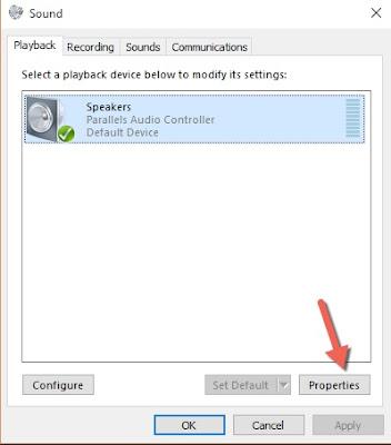 Khắc phục lỗi mất âm thanh trên windows 10 -2