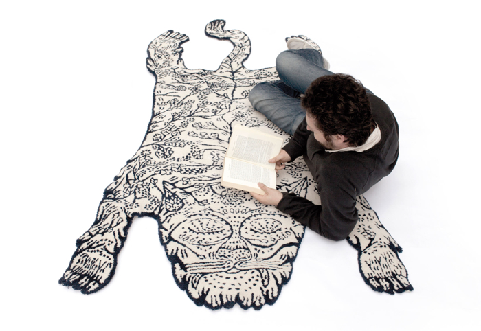 tiger rug by moustache