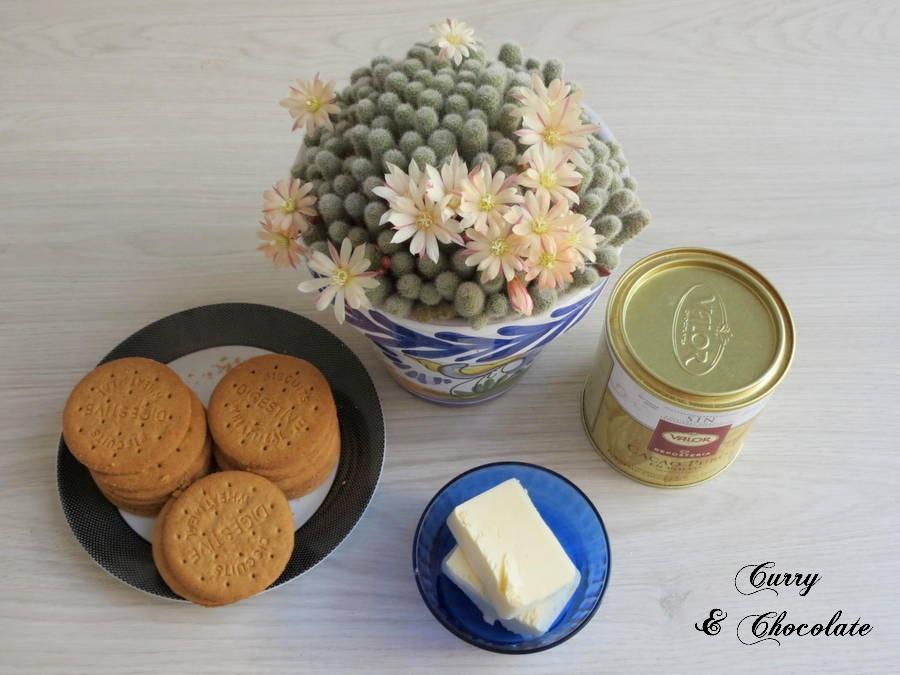 Ingredientes base de galletas