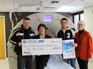 collingwood optimist club donation