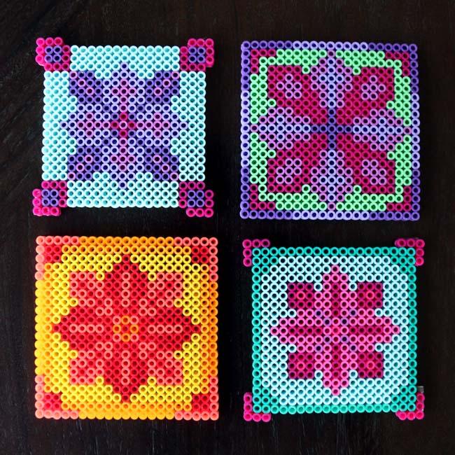 Make Perler Bead Coasters