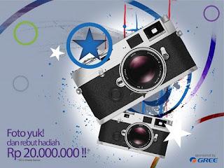 Info Kontes - Kontes Foto Inspirasi Number 1 dari Gree Berhadiah Total 20 Juta