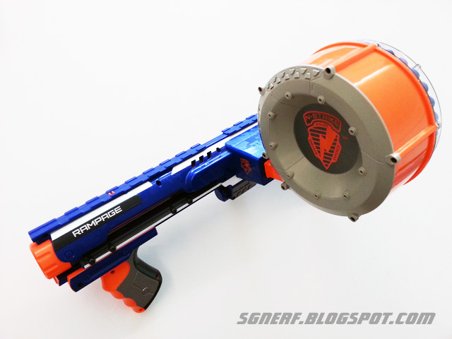 Image Is Loading Nerf N Strike Elite Rage Blaster W A