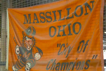 Tony Lee Massillon Ohio Flag Tigers