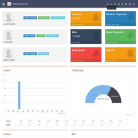 Web-based and client based Accounting solution for Small, Medium, and Large Businesses