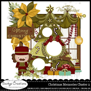 Christmas Memories Cluster 2 Freebie