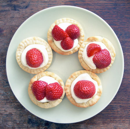 Tarts On Demand: Strawberry Mascarpone Mini Tarts