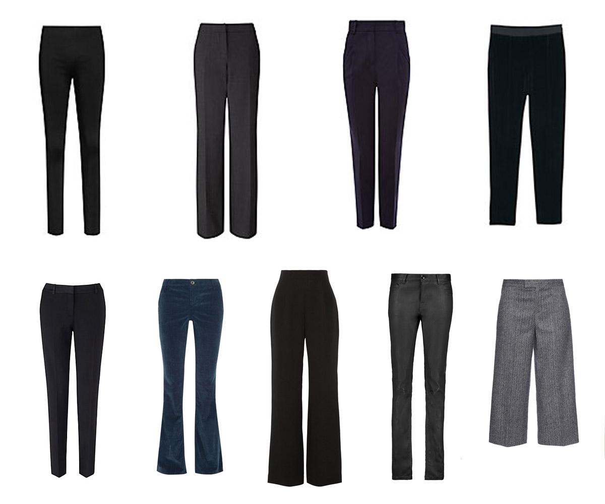 Картинки по запросу базовые брюки