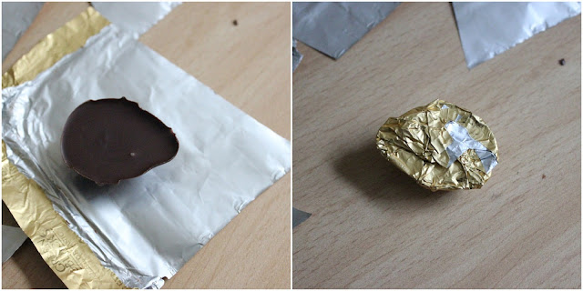 DIY Chocolate Eggs