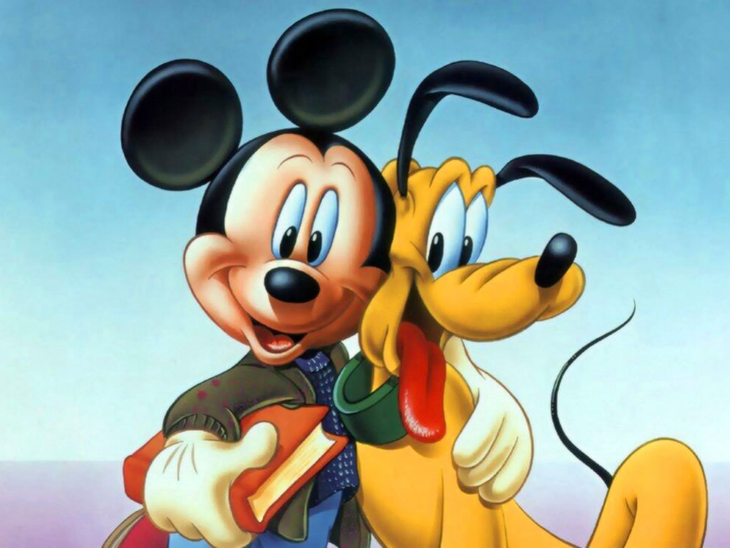 The Only Word Said By The Famous Cartoon Character Pluto Was Kiss