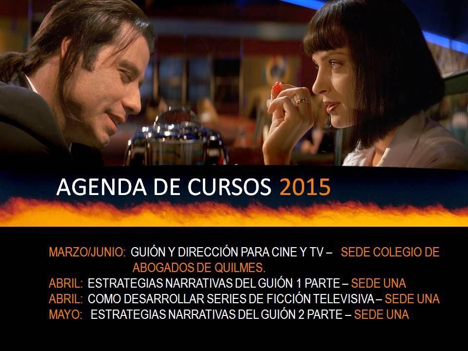AVANCES DE CURSOS 2015