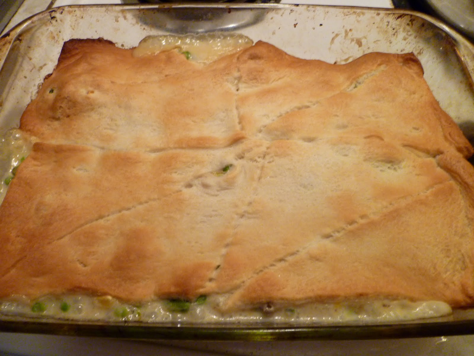 The Gourmet Student: Easy Chicken Pot Pie Casserole
