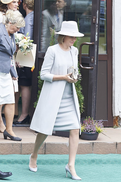 Queen Mathilde of Belgium Visits Poland - 2nd Day