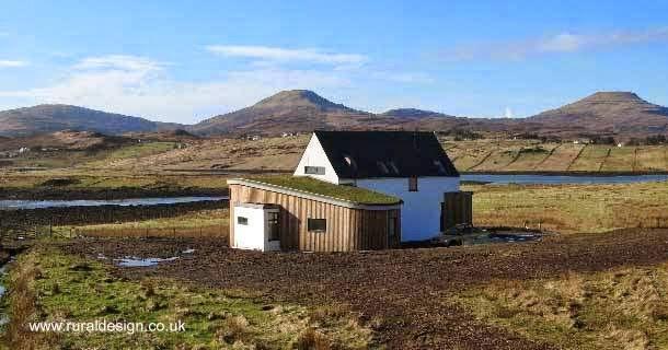 Arquitectura de casas una casa rural moderna en escocia for Casa rural moderna