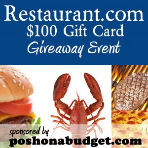 $100 Restaurant Giveaway