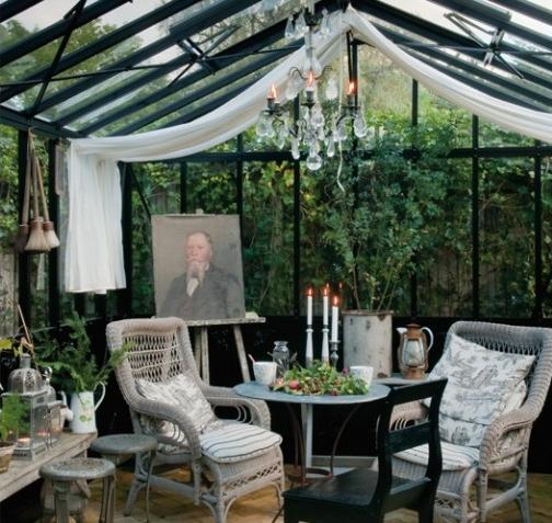 1000 images about conservatories greenhouses atriums for Jardin d hiver veranda