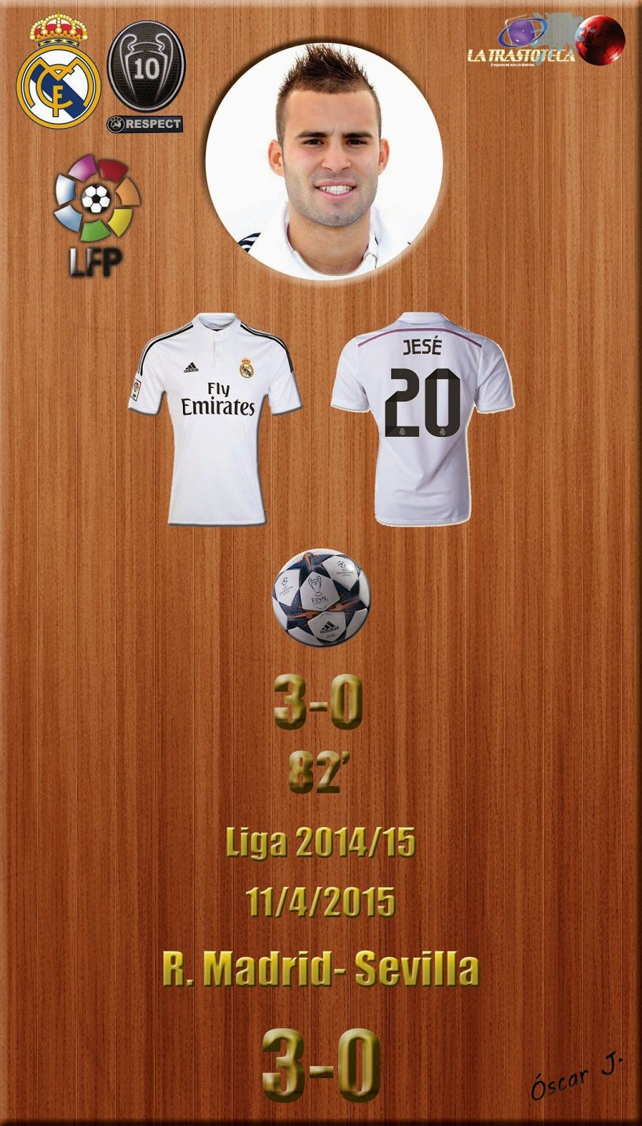 Real Madrid 3-0 Eibar - Liga 2014/15 - Jornada 31 - (11/4/2015)