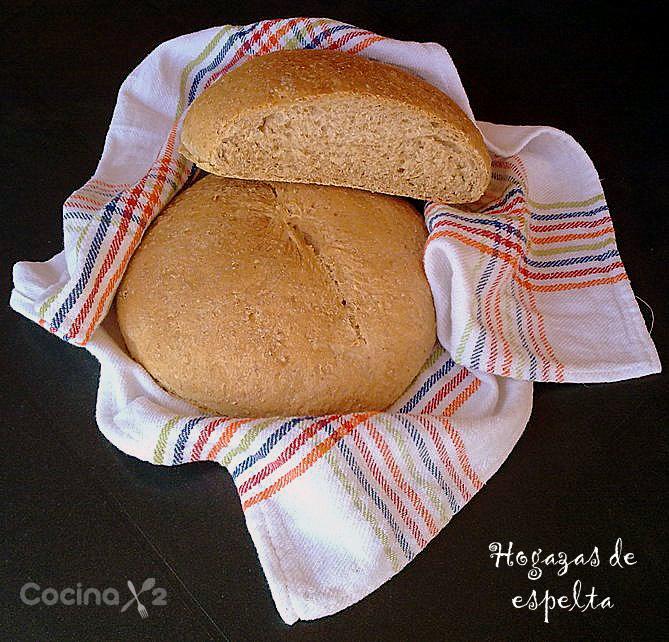 Cocinax2 las recetas de laurita hogazas de espelta mi - El amasadero ...
