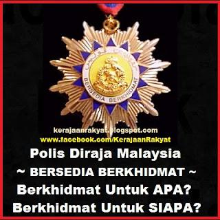 Polis Jahat Rasuah