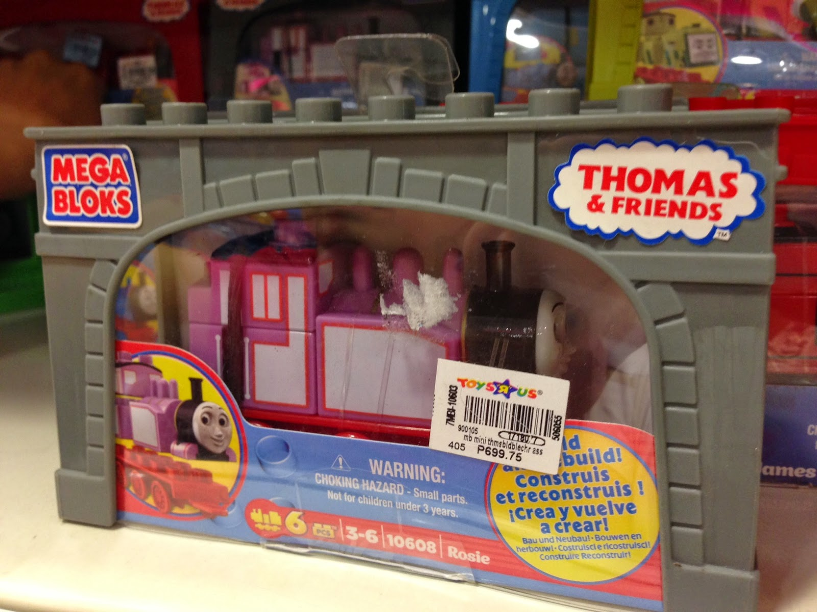 Toy SALE : Thomas & Friends Mega Bloks Rosie at 50% off