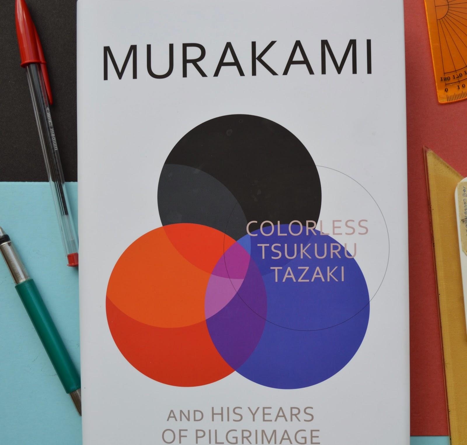 Haruki Murakami, Colorless Tsukri Tazaki and His Years of Pilgrimage, review, book, hardback, design, UK edition, Japanese literature, spoilers, photo, picture, photograph,