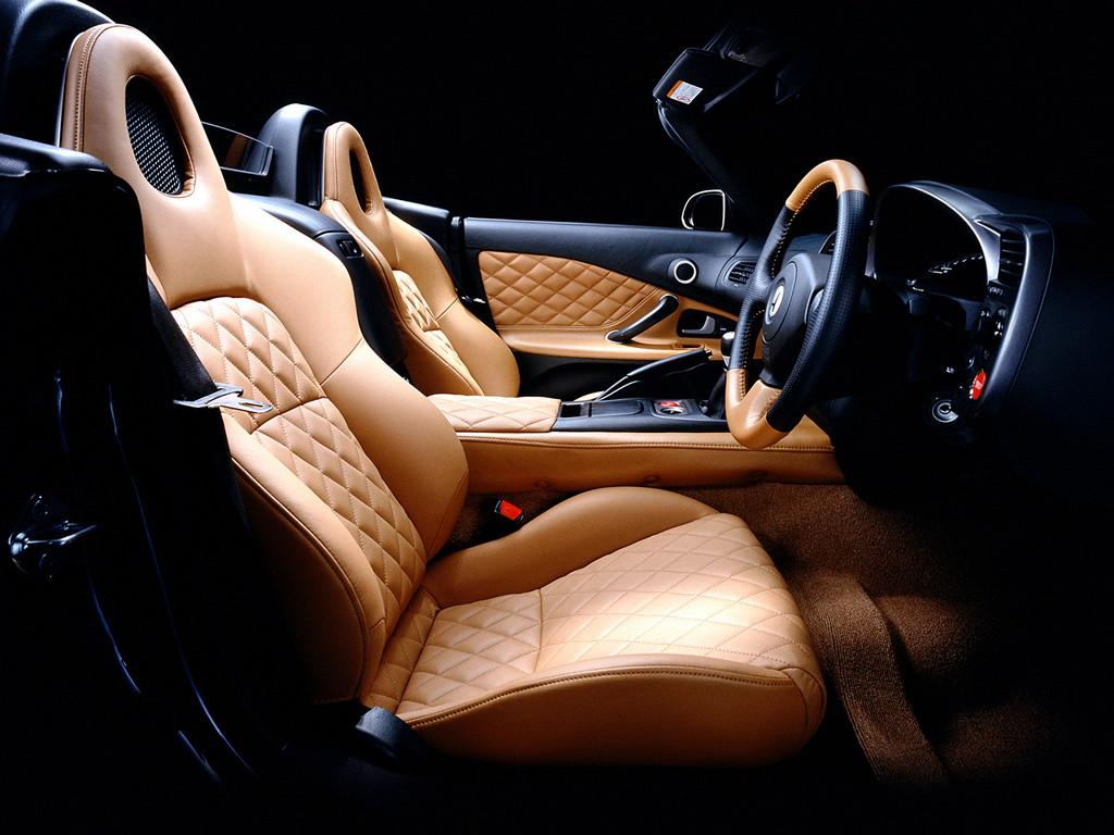 Honda S2000, japoński sportowy samochód, roadster, VTEC, tuning, 日本車, スポーツカー, チューニングカー, ホンダ, wnętrze, interior