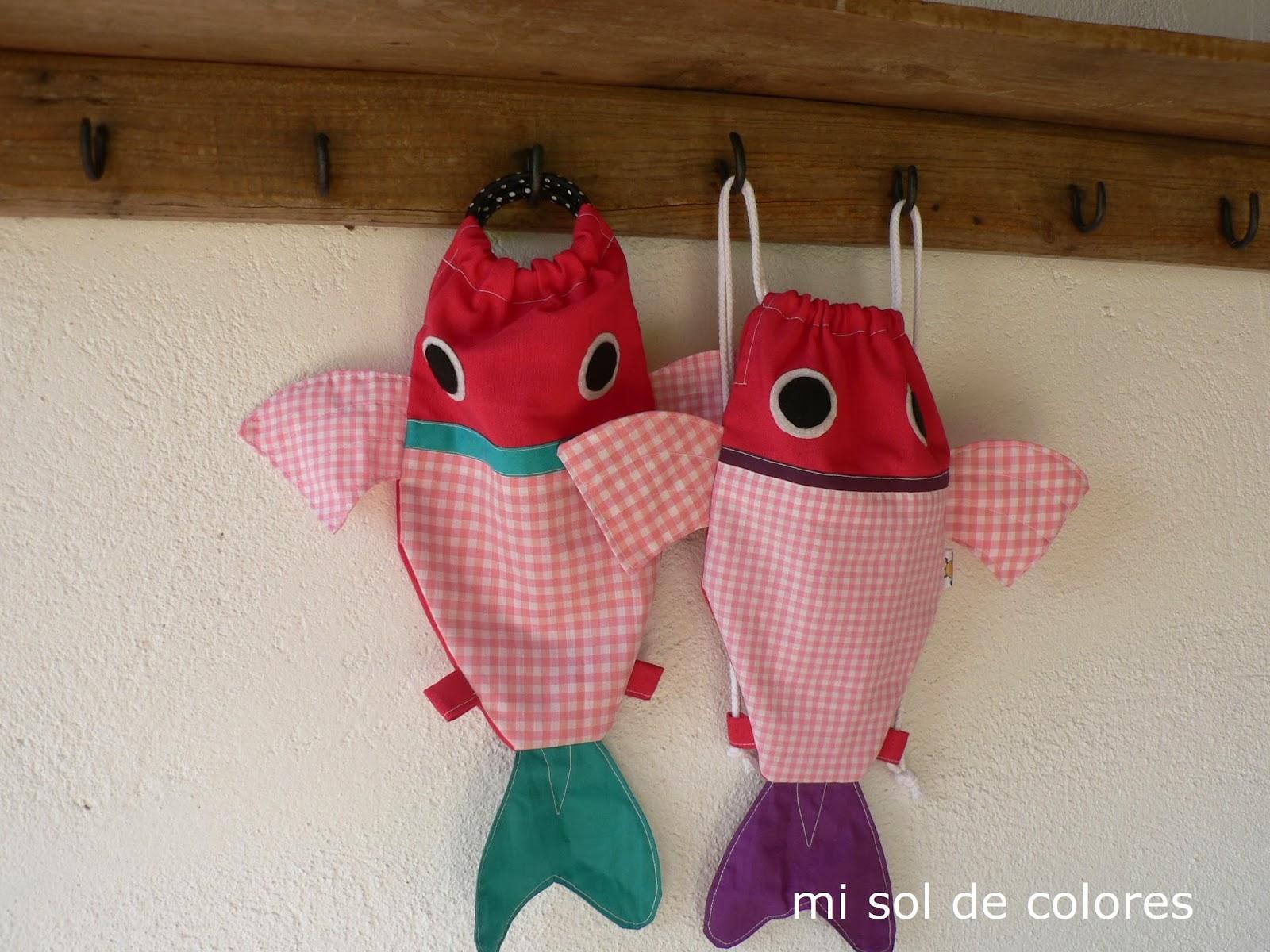 Mochilas handmade Mi Sol de Colores Mon Petit Market