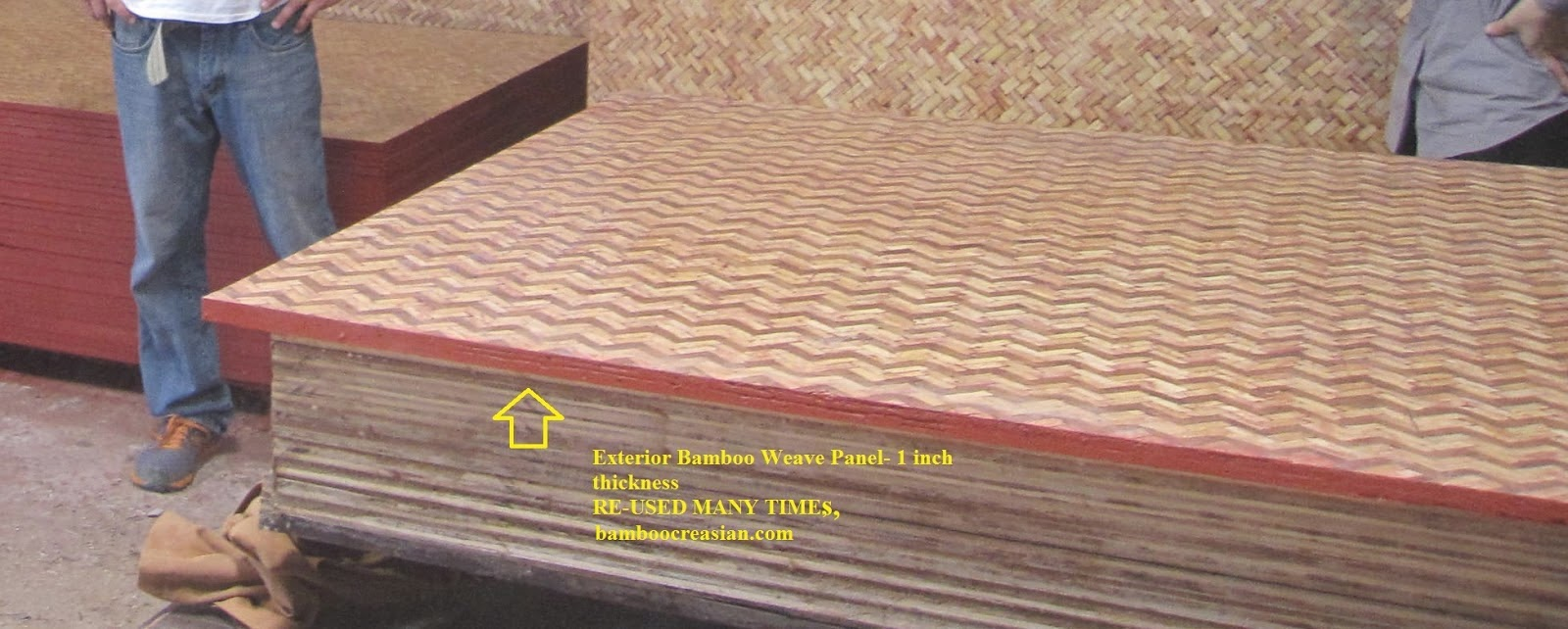 quality bamboo and asian thatch: waterproof bamboo panels for
