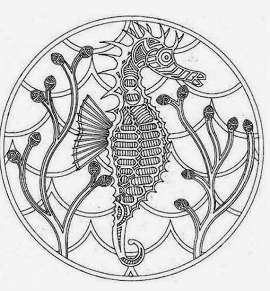 Horse Mandala Coloring Pages